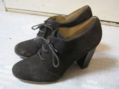 RESERVED Very cool barely worn dark brown leather by lovinglola