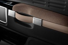 Citroen C4 Cactus Interior - Door panel handle detail - Car Body Design