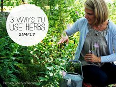 3 Ways to Use Herbs SIMPLY