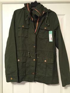 Market & Spruce Chaplin Hooded Anorak Cargo Jacket. Stitch Fix