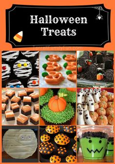EASY HALLOWEEN TREATS RECIPES | Halloween Treats