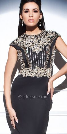 Majestic Embellished Evening Dresses by Tony Bowls Evenings