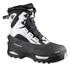 Salomon Womens Toundra Mid WP Winter BootBlackCane Black5 M US -- Learn more by visiting the image link.