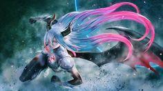 Amira Shingeki No Bahamut Demon Angel Girl Anime Picture 1920x1080