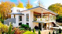 Scandinavian Style in Scotland Fish Garden, Mini Pool, Real Estate Video, Indoor Outdoor, Outdoor Decor, Home Additions, Wood Beams, Outdoor Cooking, Luxury Real Estate