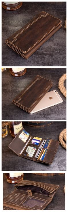 Women Pick In Tea Leaves Blocking Print Passport Holder Cover Case Travel Luggage Passport Wallet Card Holder Made With Leather For Men Women Kids Family