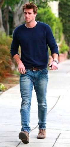 Liam Hemsworth ¦ Men's Casual Fashion Style: 50 Looks to Try