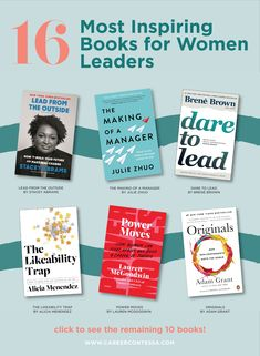 These leadership books will help to motivate and inspire the leader within you. Book Clubs, Book Club Books, Good Books, Books To Read, Leadership Goals, Women In Leadership, Reading Lists, Book Lists, Mentor Program