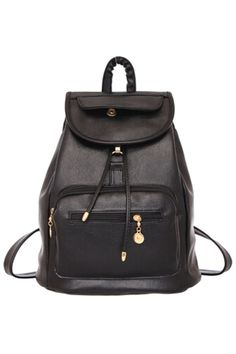 Must-Have PU Leather Backpack