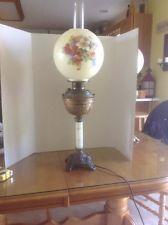 Vintage Victorian Banquet Lamp