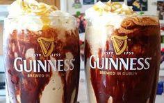 Guinness Jameson Ice Cream Float recipe for Chocolate Milkshake Day Chocolate Milkshake, Chocolate Syrup, Chocolate Ice Cream, Chocolate Recipes, Chocolate Beer, Chocolate Cheesecake, Irish Drinks, Whiskey Drinks, Bar Drinks