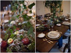 Snow White Wedding Inspiration - table decor