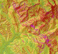 Base Dati GIS e SIT per il PAERP della Provincia di Massa-Carrara, Carrara, 2010 - Alberto Antinori