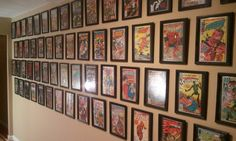 The cheap $1 Dollar Store comic book frame hack, using a document cert frame. It was time to put my comic books on the wall in the nerd cave, displaying them as art, and getting them out of the boxes. I wanted the comic books to look stylish,  while ...