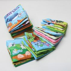 New 6 Style English Soft Fabric Cloth Book Months Juguetes Bebe Brinquedos Para Bebe Learning Education Baby Book Toys Educational Toys For Kids, Learning Toys, Early Learning, Visual Learning, Newborn Toys, Newborn Babies, Baby Shop Online, Baby Fabric, Developmental Toys