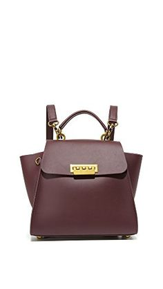 ZAC Zac Posen Eartha Iconic Convertible, Merlot *** Be sure to check out this awesome product. Peep Toe Flats, Convertible Backpack, Zac Posen, Hermes Kelly, Shoulder Bag, Backpacks, Handbags, Fashion Design, Accessories
