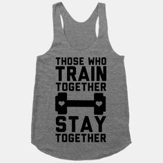 Need this! Love my sexy workout partner ;)