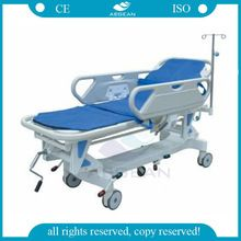 AG-HS002 CE ISO deluxe hospital manual crank patient medical delivery emergency stretcher