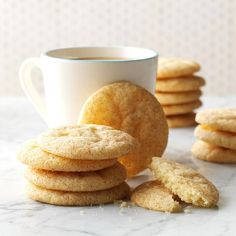 Snickerdoodles Recipe -The history of this whimsically named treat is widely disputed, but the popularity of this classic cinnamon-sugar-coated cookie is undeniable! —Taste of Home Test Kitchen