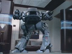 ed-209. Will it kill you? Definitely. Should you encounter, find stairs immediately.