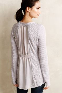 Arianell Smocked Tunic - anthropologie.com