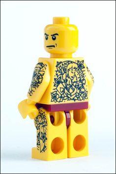 Tattoo'd Lego