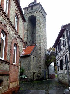 old building in Wiesbaden Sonnenberg Germany