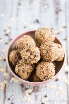 Peanut Butter Oat Balls