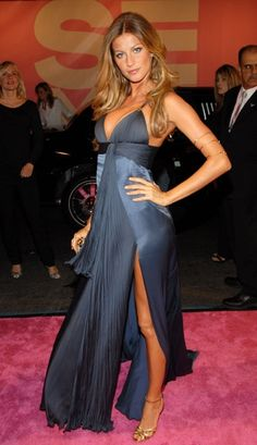 Gisele in Roberto Cavalli. Wow, looking for my heart medication. . .