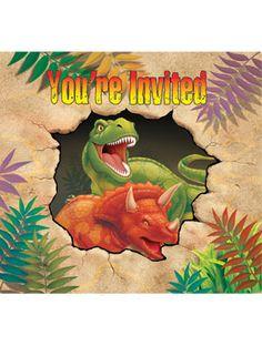 Dino Uitnodigingen