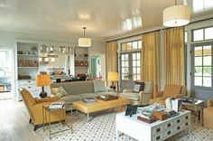 Idea Cottage in the Hamptons - traditional - living room - new york - Historical Concepts