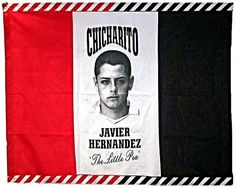 Chicharito Tri-colour Red Flag The Little Pea