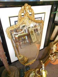 Venetian Mirror $200 -  http://furnishly.com/venetian-mirror.html