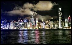 Hong Kong in RGB