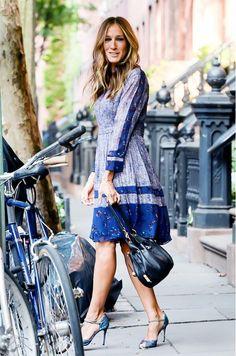 So sexy in the city! Sommerliche Variante - in blau / weiß! Kerstin Tomancok / Farb-, Typ-, Stil & Imageberatung