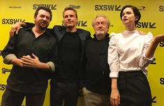 Ridley Scott and the Alien: Covenant Cast Plus Footage Shown at SXSW!   Ridley Scott and the Alien: Covenant cast plus footage shown at SXSW!  There are only a few film series where the image of a spaceship soaring through space will make an audience gasp and yell and cry out and all for very different reasons: Star Wars for the fun and adventure Star Trek for the exploration and sci-fi philosophy and Alien for scaring the living crap out of us. Many talented filmmakers have had their hands…