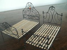 Twin Iron Detailed Beds