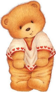 les meli melo de mamietitine - Page 54 Tatty Teddy, Illustration Mignonne, Bear Illustration, Teddy Bear Pictures, Bear Images, Bear Clipart, Cute Clipart, Cute Images, Cute Pictures