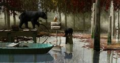 Look for the bear necessities Bambi, Virtual World, The Good Place, Bear, Artist, Painting, Artists, Painting Art, Bears