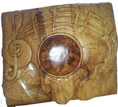 Spalted Beech and burr Elm Serving Bowls, Sculpture, Abstract, Tableware, Summary, Dinnerware, Tablewares, Sculptures, Sculpting