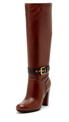 Contrast Buckle Boots / rockport