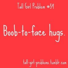 And this is why I do not like to hug women!!!!