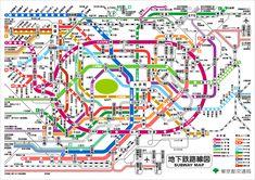 地下鉄路線図 (東京都交通局)