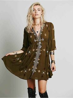 Free People Stargazer Mini Dress, $99.95