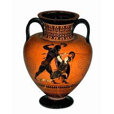 Achilles kills Penthesileia [Exekias] http://homeschoolcourses.files.wordpress.com/2011/09/achilles.jpg?w=990