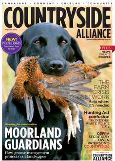 Countryside Alliance Magazine Cover Winter 2012. Sign up for the Countryside Alliance Membership and receive a free subscription to our quarterly Countryside Alliance magazine to keep you updated on our work: http://www.countryside-alliance.org/membership/join/