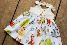 Hey, I found this really awesome Etsy listing at https://www.etsy.com/listing/483651374/girls-woodland-dress-spring-dress-deer