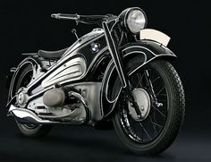 The Art Deco Motorcycle That Time Forgot 1934 BMW prototype