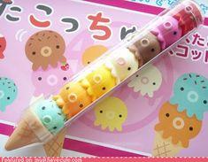 Kawaii erasers!!!! :D