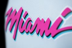 NBA's Miami Heat Embraces All Things Vice in Logo, Uniform - HOW